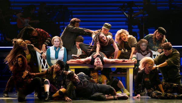 Jagged Little Pill at Broadhurst Theatre